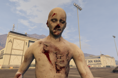 Recruit Military Zombie  (replace/addon)