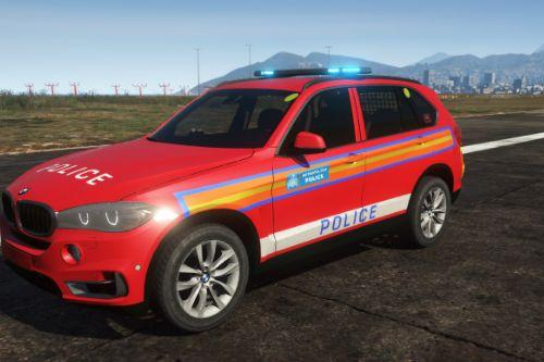 Red ARV BMW X5 Skin
