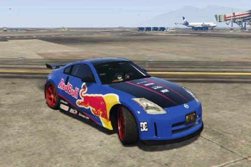 Red Bull livery for Nissan 350Z