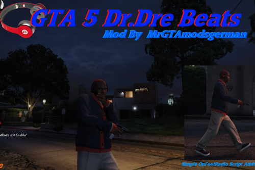 Red Dr. Dre Beats Headphones