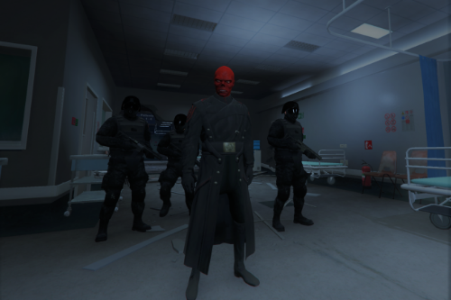 Red Skull from Captain America [Add-On Ped]