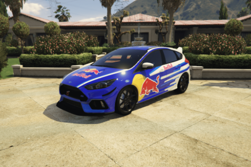 RedBull Livery for Focus RS