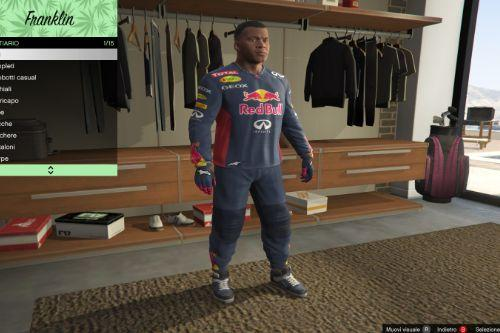 RedBull Suit for Franklin