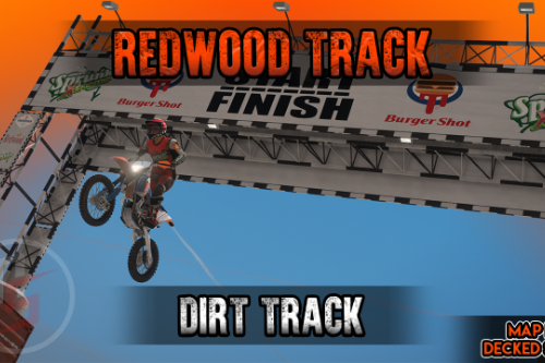 Redwood Track Dirt Track [FiveM / SP / YMAP]