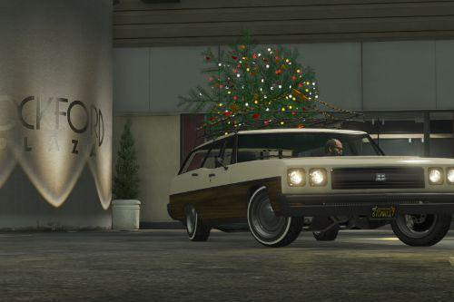 Regina Christmas Car [Add-On/Replace]