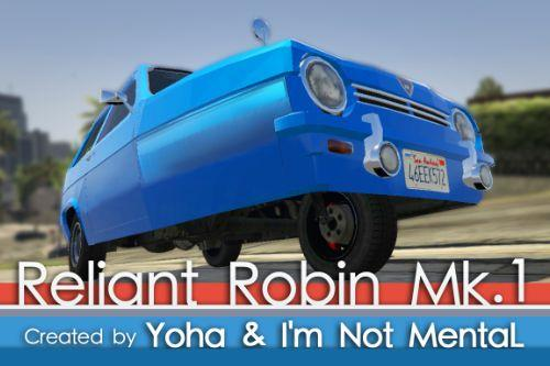Reliant Robin Mk.1 [Add-On / Replace]