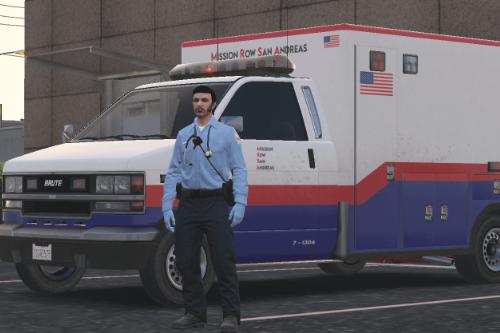 [REMAKE] Ambulance Mission Row San Andreas