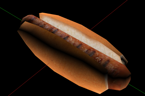 Remastered Hotdog in a Bun