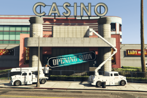 Removed Vinewood Casino Opening Soon Banner