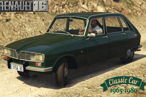 RENAULT 16  (1965 - 1980) [ADD-ON] and [REPLACE] for Ingot