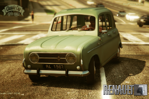 RENAULT 4 [Add-On / Replace | LODS]