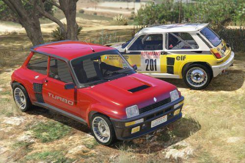 Renault 5 Turbo [Add-On / Replace | Tuning | Livery]