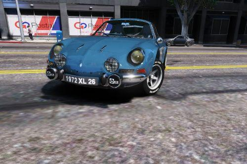Renault Alpine A110 1600 S 1970 [Add-On / Replace | Tuning | Template]