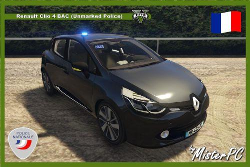Fa6799 renault clio 4 (unmarked police) by misterpc 1620x1080