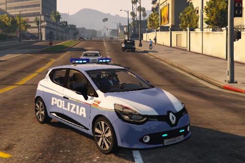 Renault Clio 4 Polizia Ferroviaria (Paintjob)