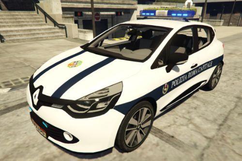 Renault Clio 4 - Polizia Roma Capitale - PRC | Regione Lazio [ELS]