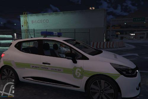 Renault Clio - Gruppe 6 (Security/Peace Officer)
