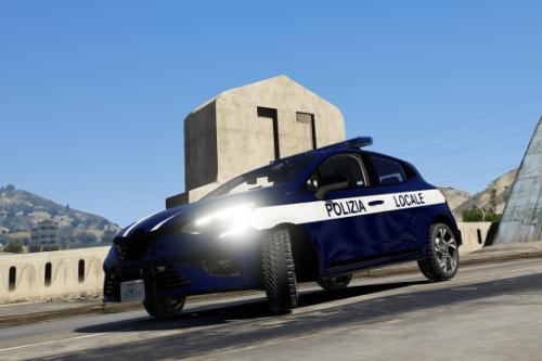 Renault Clio V - Polizia Locale (Paintjob | FiveM)