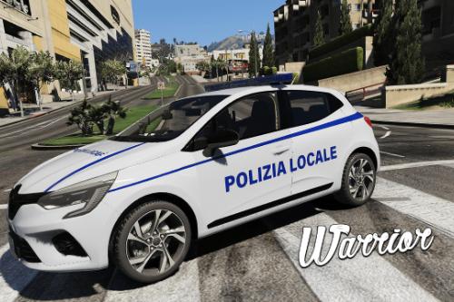 Renault Clio V 2020 - Polizia Locale (Paintjob | FiveM)
