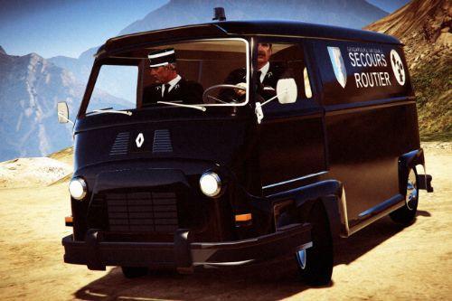 Renault Estafette Gendarmerie 1959
