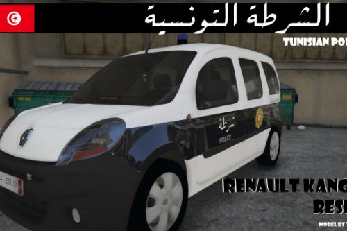 Renault Kangoo Tunisian Police retexture