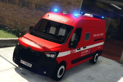 Renault Master 2019 - Vigili del fuoco | SAF [ELS]