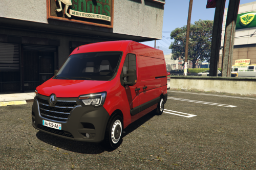 Renault Master L2H2 2019 [ADD-ON / REPLACE] [UNLOCKED]