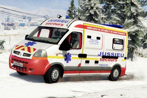 Renault Master Jussieu Secours