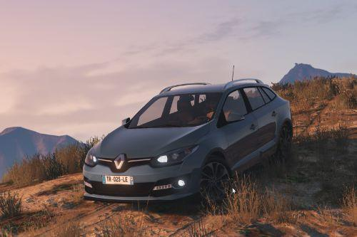 Renault Megane 3 Estate [Replace]