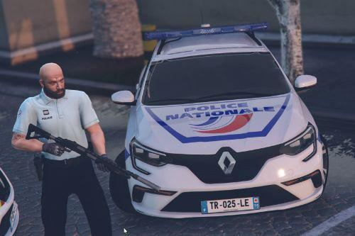 Renault Megane 4 Estate Police Nationale