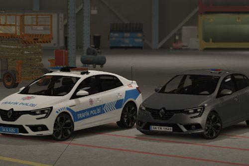 Renault Megane 4 / IV Turkish Police Pack [REPLACE][ELS]