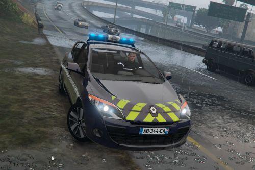 Renault Megane III Berline Gendarmerie