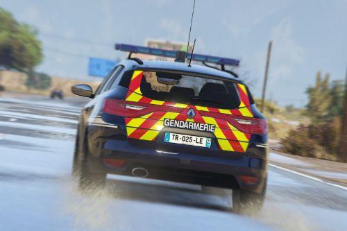 Renault Megane 4 Estate Gendarmerie