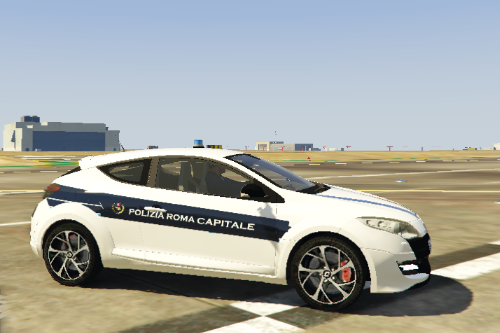 Renault Megane RS Polizia Roma Capitale