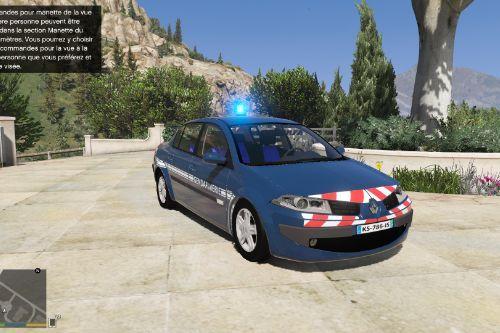 Renault megane sedan French gendarmerie [noELS-ELS]