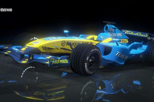 Renault R26 F1 2006 Fernando Alonso Livery for F248