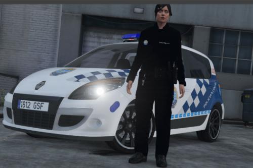 Renault Scenic 3 Policía Local Galicia.