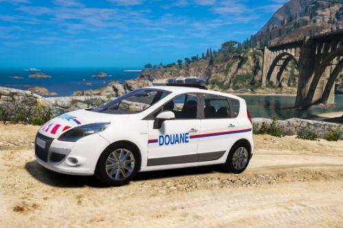 Renault Scenic III Douane