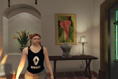 Renault tank top for MP Female