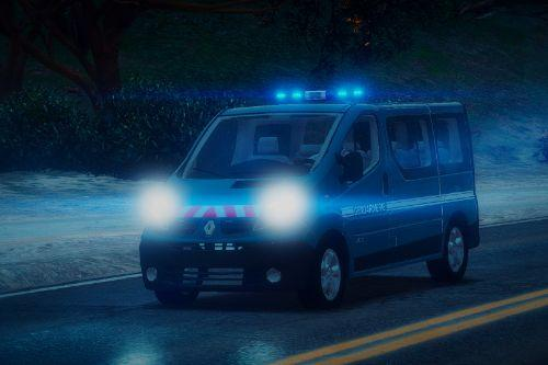 Renault Trafic 2013 Gendarmerie [Replace | ELS | Reflective]