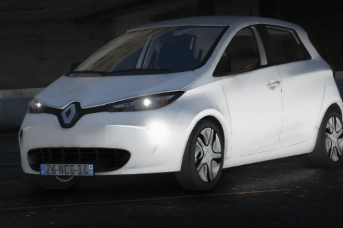 Renault Zoé 2013 [ Add-On | FiveM | Lock ]