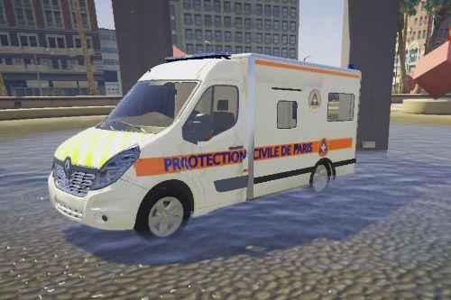 Renaults Master 3 Protection Civile Cube [ELS]
