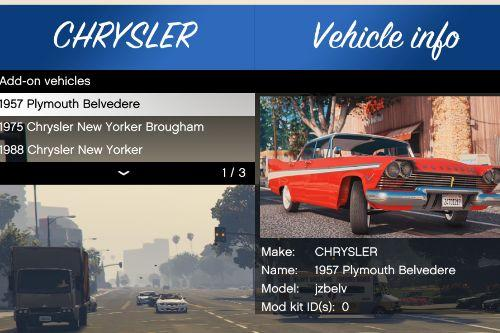 """Reorganized Vehicle's names and makers for """"Classic Cars Pack 1,2"""""""