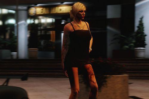 Short Dress for Freemode Female