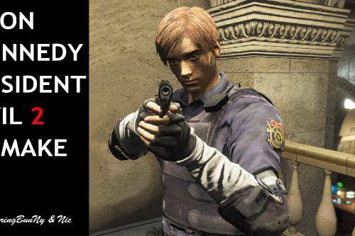 Resident Evil 2 Leon Kennedy Remake