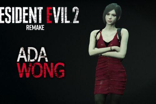 Resident Evil 2 Remake - Ada Wong [Addon-Ped]