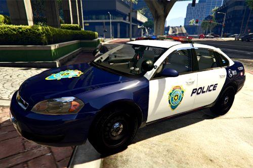 Resident Evil Series: Raccoon Police 2014 Chevy Impala Cruiser