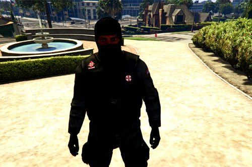 Resident Evil Series: S.T.A.R.S., Raccon PD and Umbrella Security Services Uniforms Pack