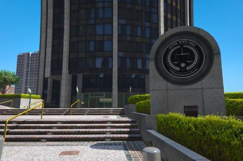 [Retexture] FIB Building | AIAD replaced FIB  [Add-On SP / FiveM]