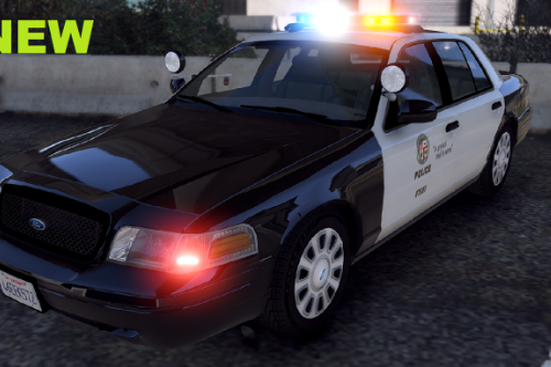 Better lights for Smokey's LAPD CVPI